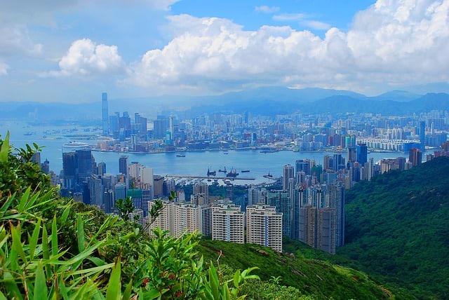Най-краивите градове Хонг конг